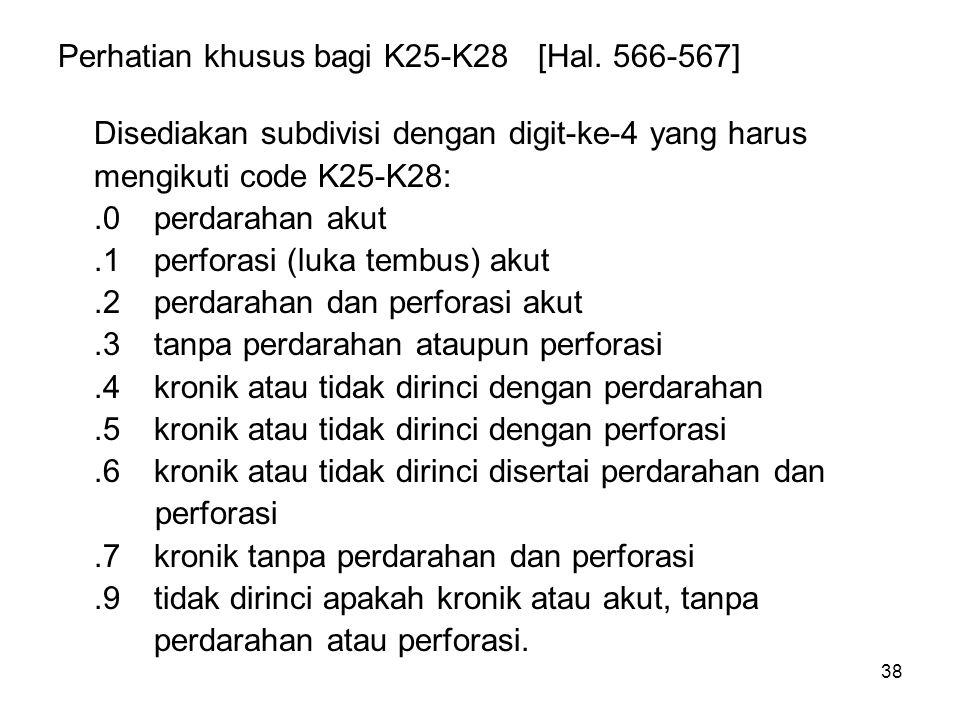 Perhatian khusus bagi K25-K28 [Hal. 566-567]